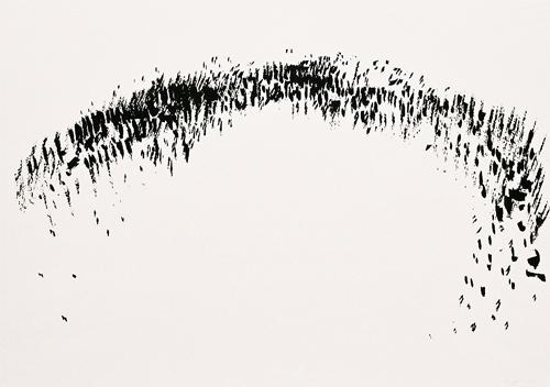 4 Landschap OI-inkt 37×53 cm 2007