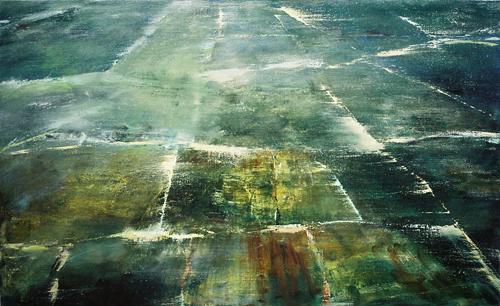 7 Vloer in Brancion Olieverf 40×60 cm 1999