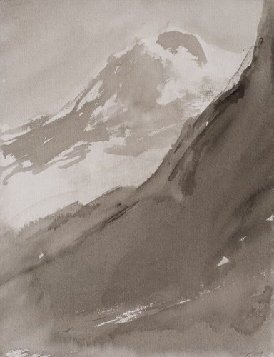 _DSC0809 b La Grande Motte O.I.-inkt 45×34,5 cm 2008