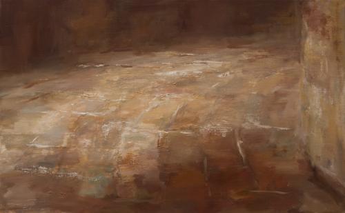 _DSC1030 Vloer in Brancion Olieverf 50×80 cm 2006