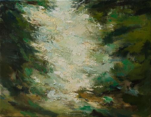 _DSC2126 Bayehon Olieverf 35 × 45 cm 2009