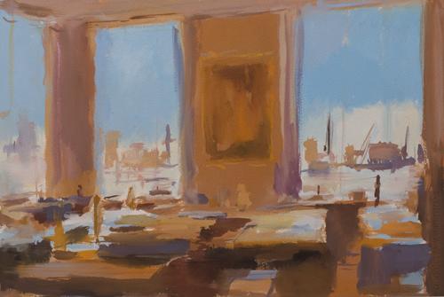 _DSC2442 Interieur Gouache 37 x 54 cm 2010