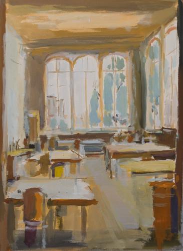 _DSC2499 Interieur Gouache 73 x 53 cm 2010
