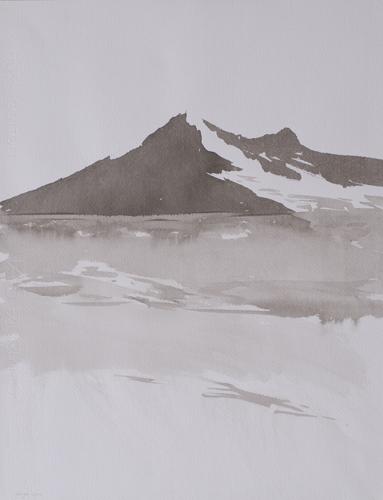 _DSC3452 Lac du Mont Cenis O.I.-inkt 45 x 34,5 cm 2010