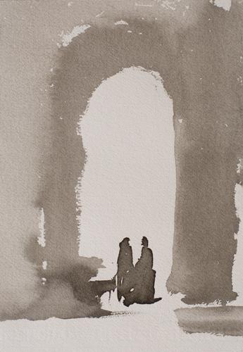 _DSC3812 Paray-le-Monial O.I.-inkt 27 x 18 cm 2011