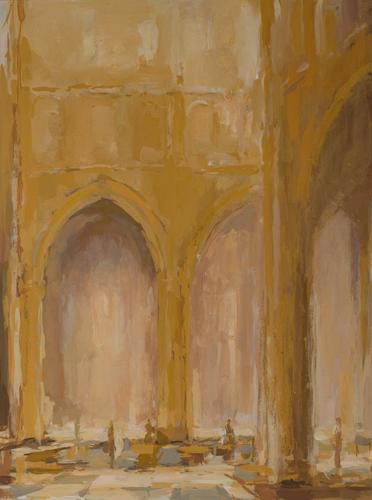 _DSC4228 Paray-le-Monial Gouache 73,5 x 54,5 cm 2012