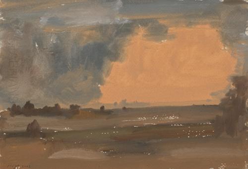 _DSC6084 Landschap Gouache 19 x 27 cm 2002