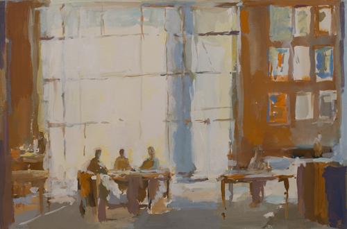 _DSC4705 Interieur Gouache 36,2 x 54,5 cm 2013